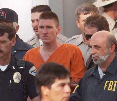 Timothy McVeigh was executed June 11, 2001 for his role in the April 19, 1995 bombing in Oklahoma City which killed 168 people