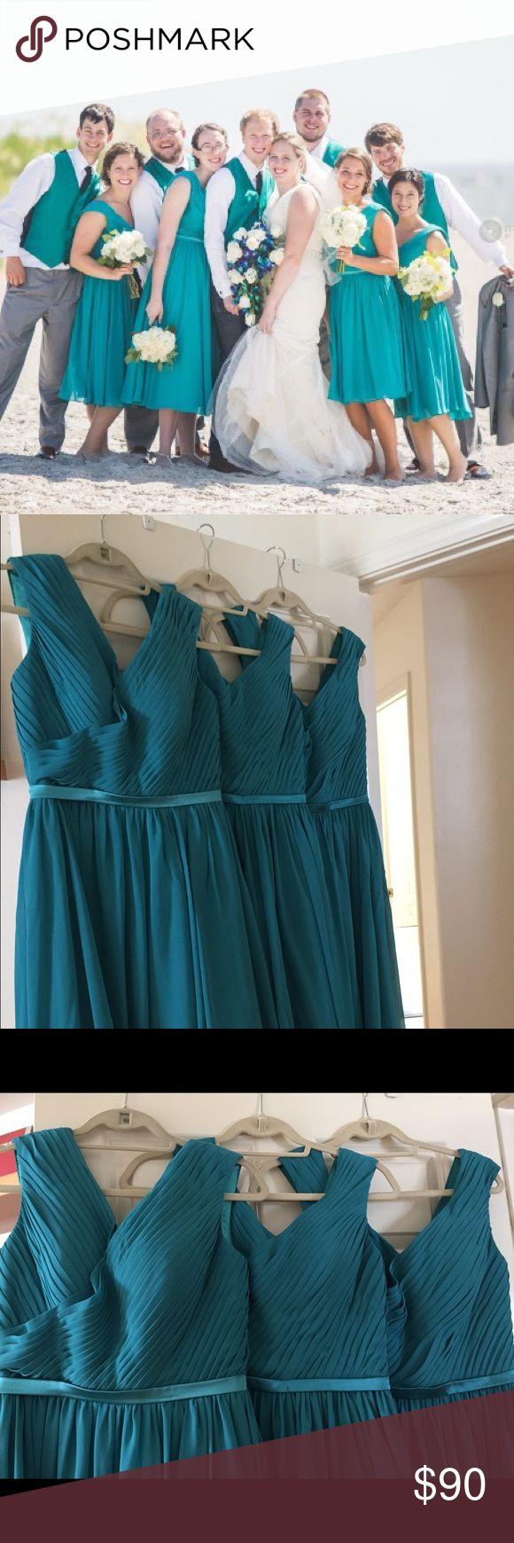 Top 25 best used bridesmaid dresses ideas on pinterest blue 3 turquoise bridesmaid dresses ombrellifo Choice Image