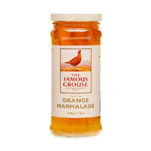 Caledonian Kitchen - Famous Grouse Whisky Marmalade,  (http://www.caledoniankitchen.com/famous-grouse-whisky-marmalade/)