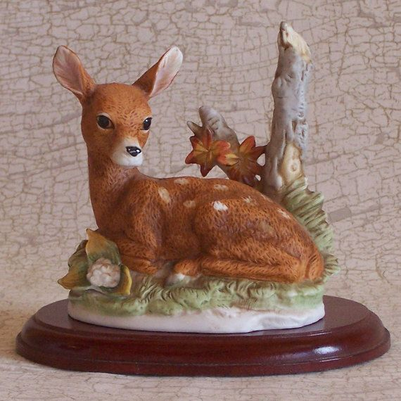 Homco Home Interiors 8879 Deer Fawn By CountryTrlCollection, $8.95