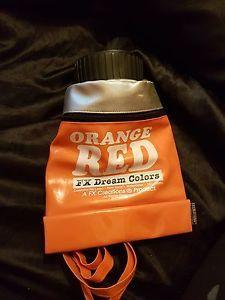 FX-Dream-Colori-Vernice-Tubo-Borsa-Zaino-Arancione-Rosso