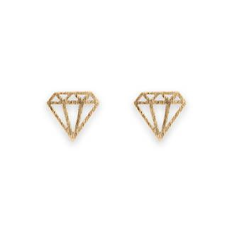 Buy Gold Satin Diamond Earrings at competitive prices from Fishers on Cameron