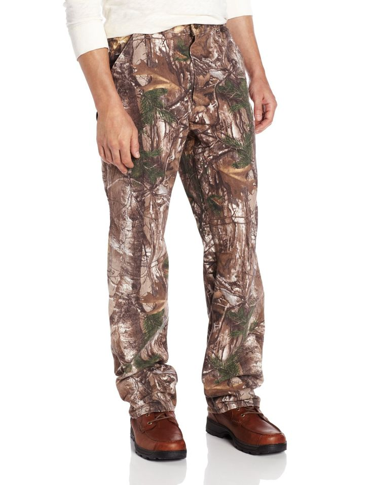 Carhartt Men's Camo Washed Duck Dungaree >>> More infor at the link of image  : Carhartt Boots