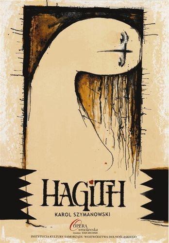 """Ryszard Kaja, """"Hagith"""" – poster"""