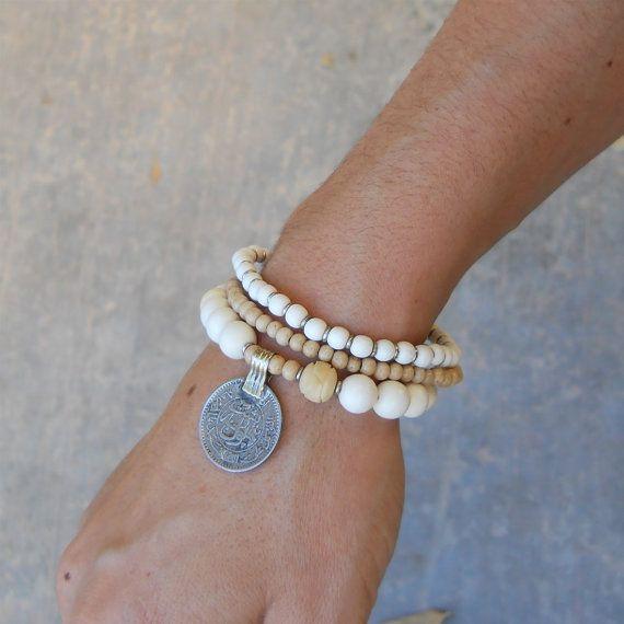 Beautiful yoga mala bracelet