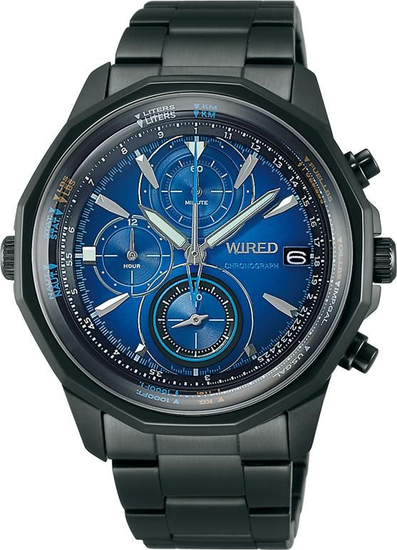 SEIKO ワイアード WIRED 腕時計 THE BLUE ザ・ブルー 丸型モデル AGAW421 メンズ | 商品から探す | ALEXCIOUS