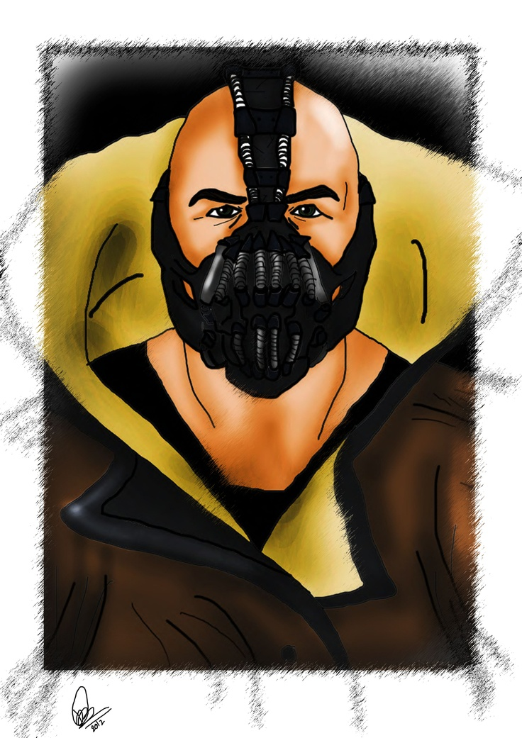 A quick sketch of Bane i did.