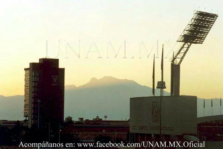 Amanecer UNAM