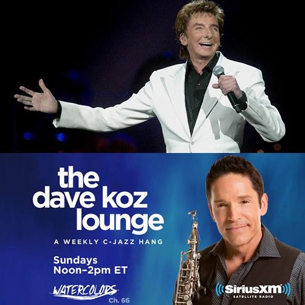 Barry Manilow Dave Koz poster. Dave Koz gave a GREAT warm-up concert before Barry's concert, in Omaha, NE, on Feb. 11th, 2015!!
