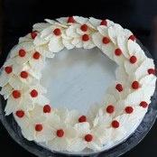 lovely: Cakes Cupcakes, White Chocolate, Cupcakes Wreaths, Cupcake Wreath, Mint Chocolates Cupcakes, Cupcakes Rosa-Choqu, Mint Chocolate Cupcakes