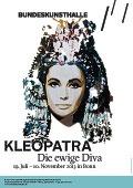 "Portrait-Poster by BTOY for the Show ""Essere Cleopatra - la diva eterna"", Bundeskunsthalle, Bonn, 2013"