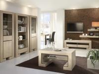 Urządzając wnętrza warto wziąć pod uwagę aranżację, która sprawi, że pomieszczenie będzie uporządkowane. Pomogą w tym m.in. meble z jednej kolekcji w kilku wnętrzach.