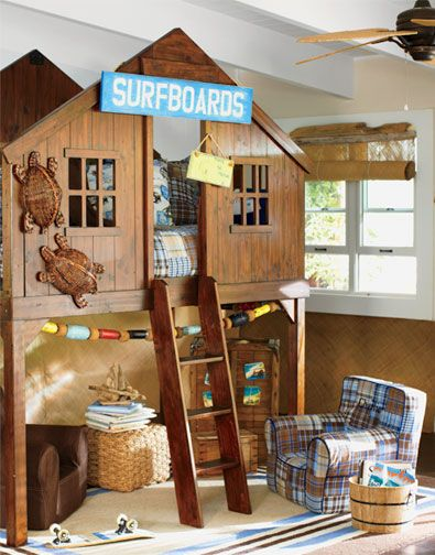 Boys Bedroom - Surf Shack-Style