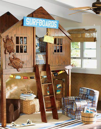 <3Design Bedroom, Decor Bedrooms, Boys Bedrooms, Kids Room, Awesome Beds, Bedrooms Bedrooms, Bedrooms Kids, Pottery Barn, Bedrooms Decor