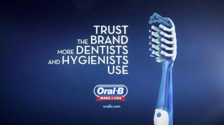 This Oral-B advertisement is an example of bandwagon. The ...