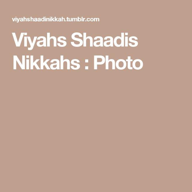 Viyahs Shaadis Nikkahs : Photo