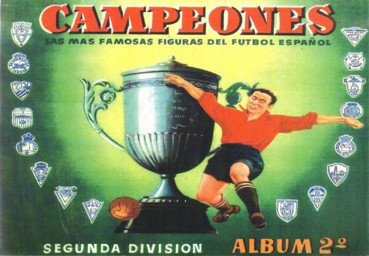 Liga Española de Futbol 2ª División 1949-1950- 2º Álbum de cromos publicado por Caramelos Campeón