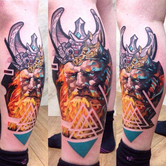My first piece done by Martynas Snioka at Rock'n'Roll Tattoo Glasgow, Scotland