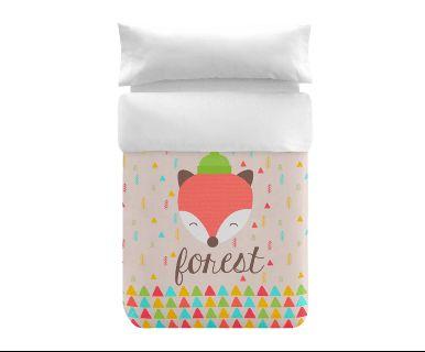 Parrure de lit FOREST, percale de coton