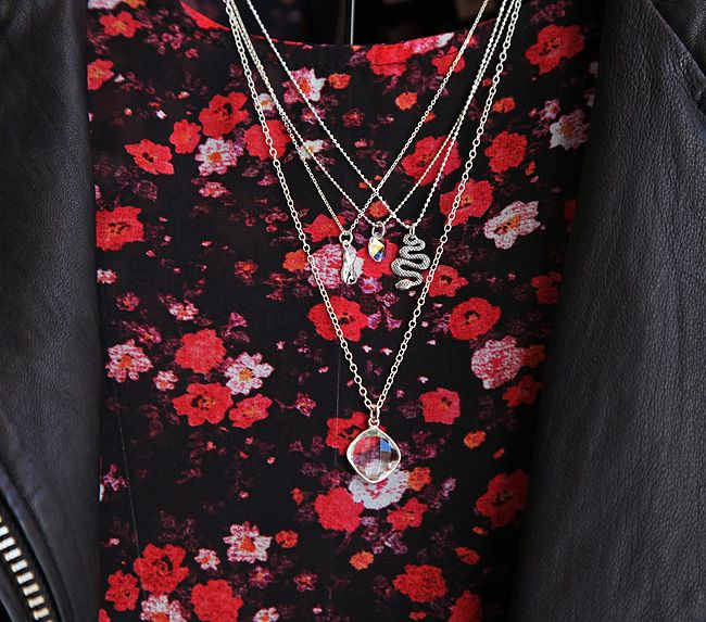 Delicate necklaces by Linda Toye