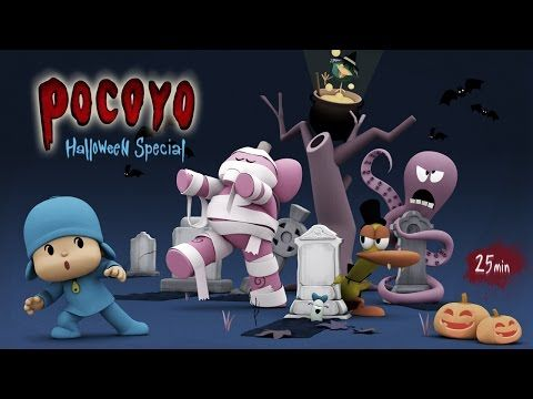 Pocoyo Halloween: Spooky Movies for Kids - 25 minutes of fun! - YouTube