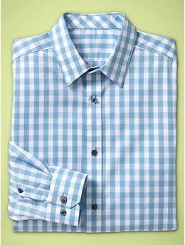 Gap Non-Iron checkered shirt, convenient and classic, $60