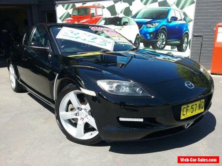 2003 Mazda RX-8 Black Manual 6sp M Coupe #mazda #rx8 #forsale #australia