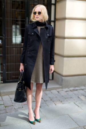 シックなカラーチョイスで女性らしさをプラス☆結婚式に着ていくおすすめのコート♡