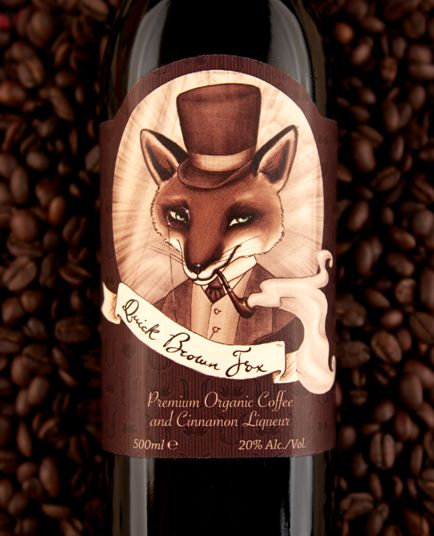 Quick Brown Fox Coffee Liqueur, Dunedin NZ