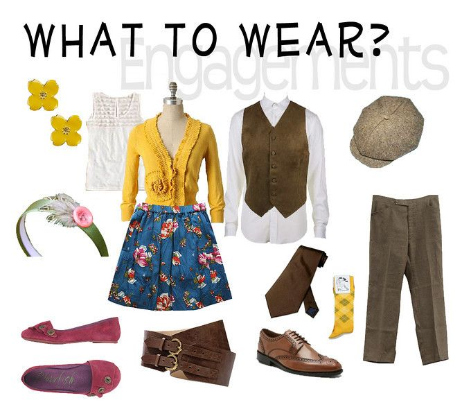 Love the newsboy cap, vest, and vintage pattern