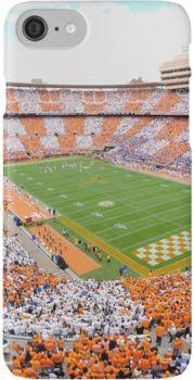 Neyland Stadium: UT vs. Florida Checkerboard iPhone 7 Cases