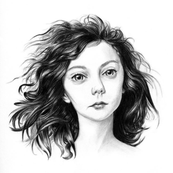 raisedbyothers - Nastya, from a photo by Peter Karasev. Graphite