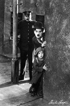 Plakat Charlie Chaplin - the kid