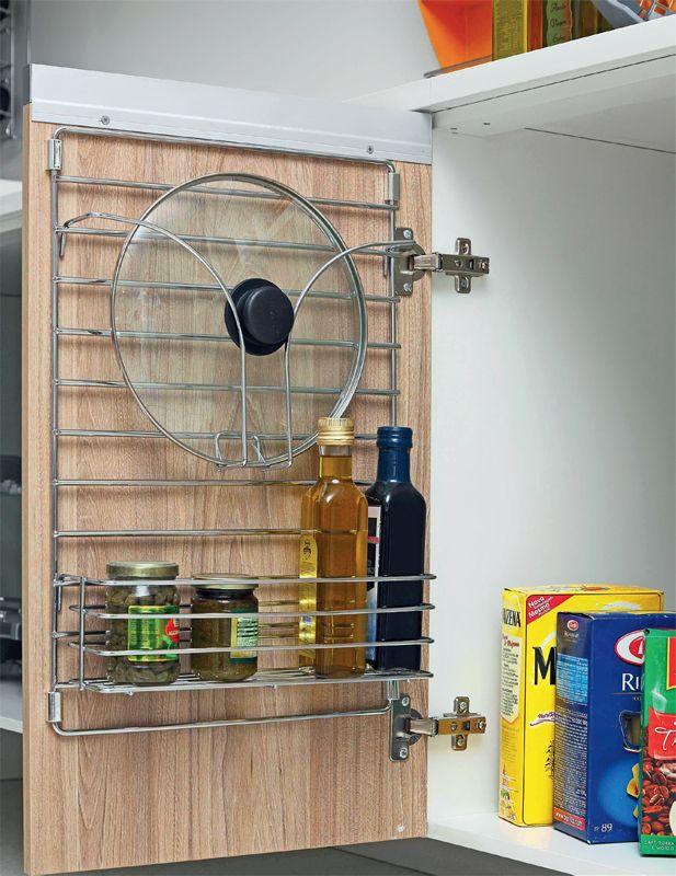 Isso é prático: quatro itens que deixam a casa organizada - Casa. Aramado para porta de armário.