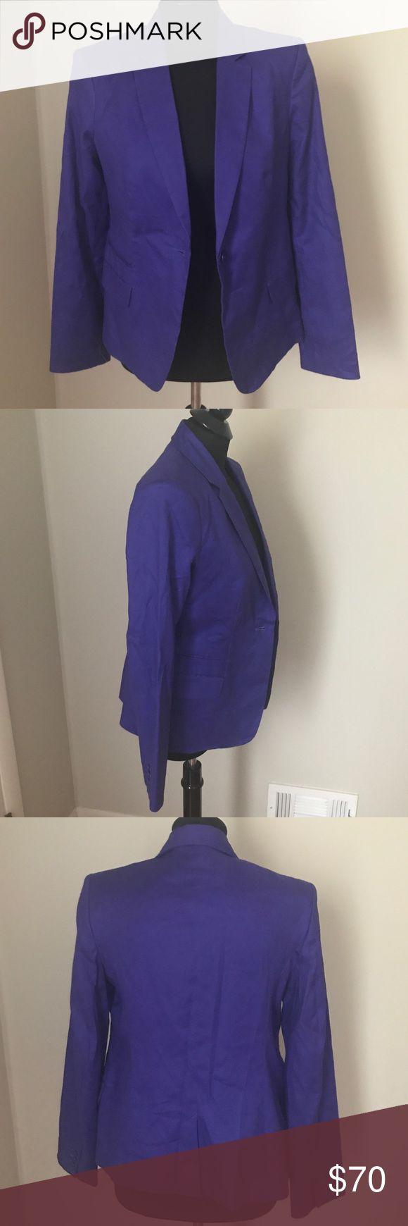 Calvin Klein Blazer NWT New with tags Calvin Klein Blazer in Indigo blue. Calvin Klein Jackets & Coats Blazers