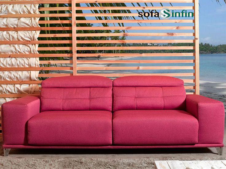 Sofá moderno de 3 y 2 plazas modelo Sublime fabricado por Acomodel en Sofassinfin.es