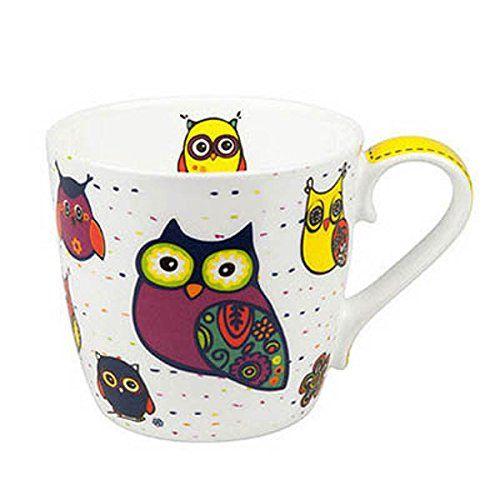 Mug Owls - White