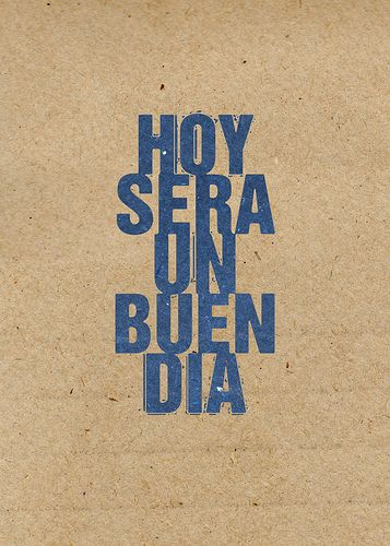 Hoy será un buen día by dhammza illustrated, via Flickr