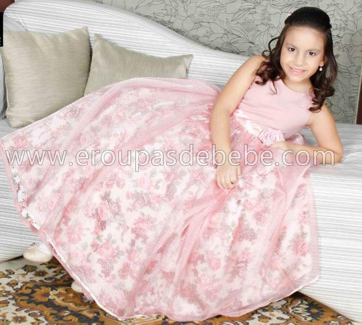 vestido de festa infantil 2