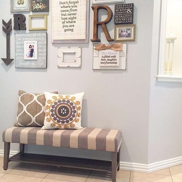 Instagram Wall Color Is Silverpointe By Sherwin Williams Picture Wall Pinterest Instagram