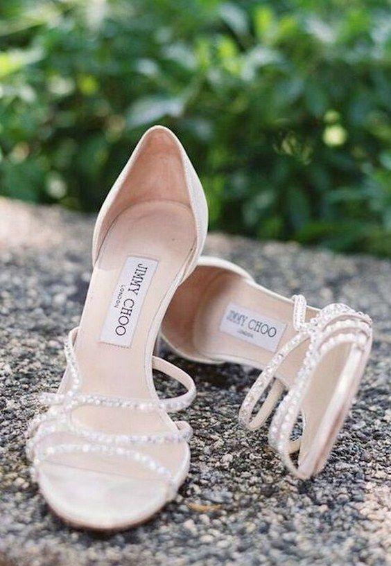 100 sapatos de casamento bonitos do Pinterest   – Marci