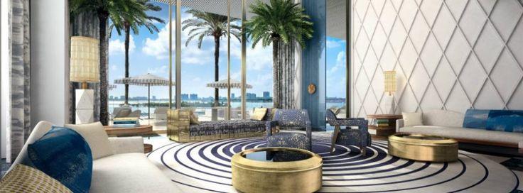 JEAN LOUIS DENIOT DESIGNS NEW Elysee TOWER IN MIAMI
