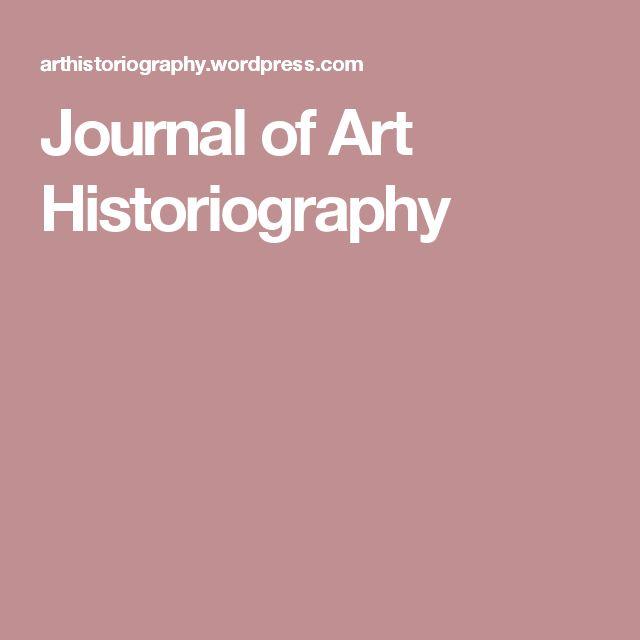 Journal of Art Historiography