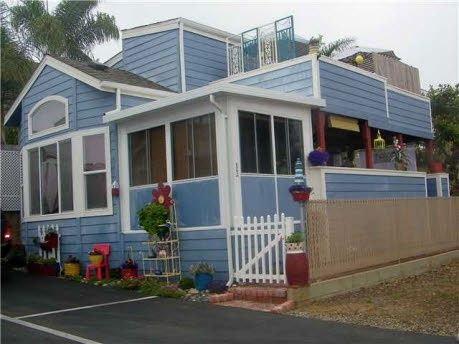 This use to be a single wide mobile home