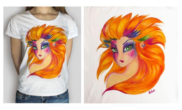 koszulka dla mojej siostry- farby do tkanin