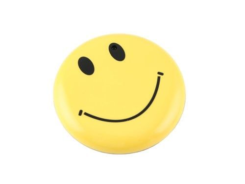 Smiley Pin with Hidden Video Camera