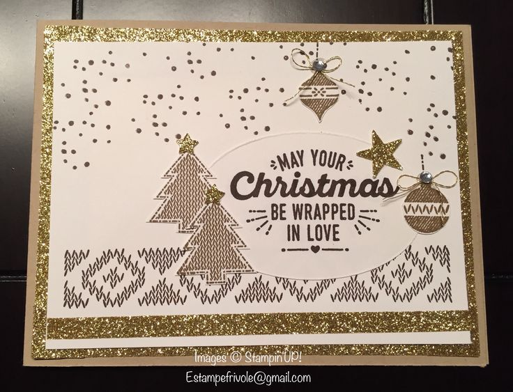 Wrapped in Warmth, Stampin'UP!