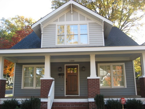 A New Craftsman Bungalow With Historic Charm Traditional
