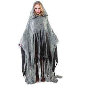 Zombie Poncho til Halloween | Billige kostumer og udklædning | Pige
