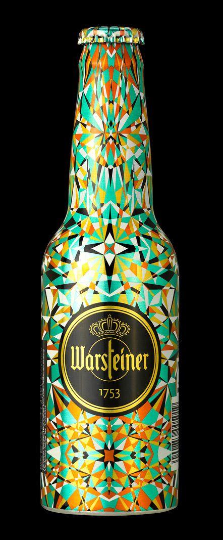 pinterest.com/fra411 #packaging -  Warsteiner Art Collection